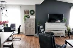 Salon-peinture-vinyle-rideaux